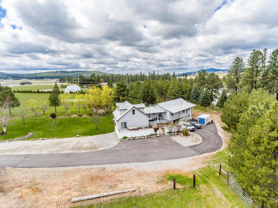 Kootenai County Single Family Home For Sale: 3 S Richards Rd