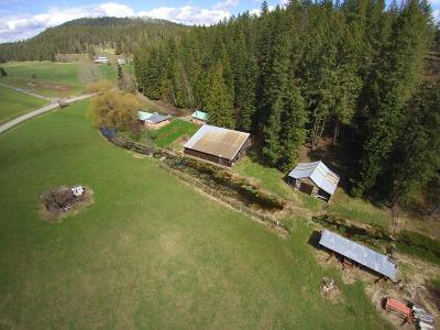 Sandpoint Single Family Home For Sale: 496 Old Highway Rd