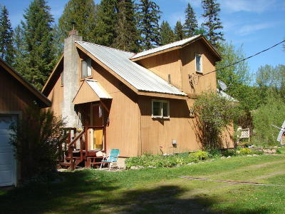 Bonners Ferry Single Family Home For Sale: 53239 Us-95