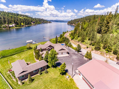 Harrison Single Family Home For Sale: 5879 S Squaw Bay Rd