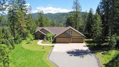 Coeur D'alene, Dalton Gardens Single Family Home For Sale: 5207 E. Giftedview Drive