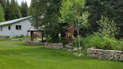 Sandpoint Single Family Home For Sale: 479598 Highway 95