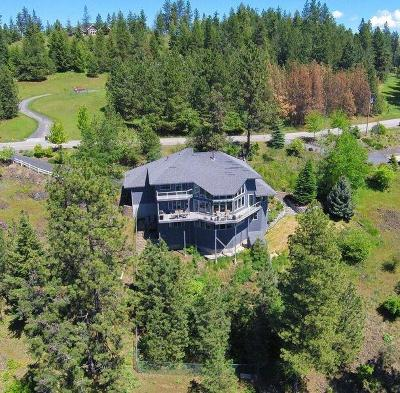 Coeur D'alene, Dalton Gardens Single Family Home For Sale: 3690 E. Fernan Hill Road