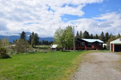 Bonners Ferry Single Family Home For Sale: 1639 Kings Row Rd