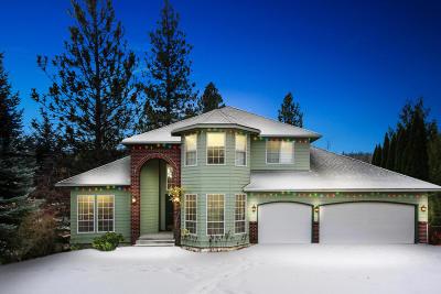 Kootenai County Single Family Home For Sale: 5531 E Shoreline Dr