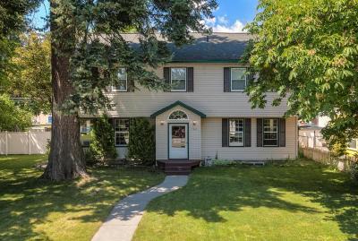 Coeur D'alene, Dalton Gardens Single Family Home For Sale: 1303 N 6th St