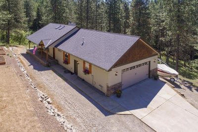 Rathdrum Single Family Home For Sale: 14558 N Saddle Ridge Rd