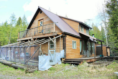 Bonner County, Kootenai County Single Family Home For Sale: 804 Usfs Rd 630