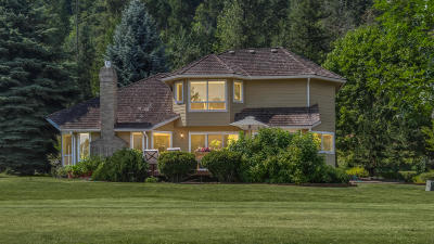 Sandpoint Single Family Home For Sale: 773 Lower Pack River Rd