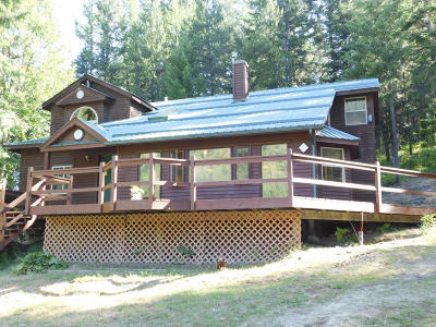 Bonners Ferry Single Family Home For Sale: 267 Misty Mountain Road