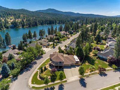 Post Falls Single Family Home For Sale: 5694 E Shoreline Dr