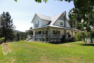 Coeur D'alene, Dalton Gardens Single Family Home For Sale: 7196 S Greensferry Rd