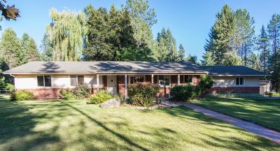Hayden, Hayden Lake Single Family Home For Sale: 12246 N Strahorn Rd
