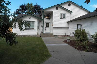 Rathdrum Single Family Home For Sale: 15457 Vera St