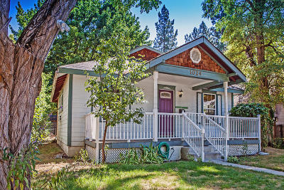 Coeur D'alene Single Family Home For Sale: 1024 N 2nd St