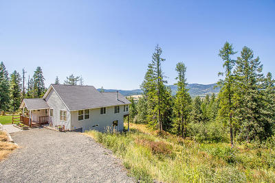 Coeur D'alene, Dalton Gardens Single Family Home For Sale: 15885 S Rockford Heights Rd