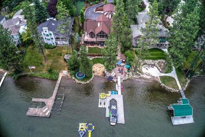 Post Falls Single Family Home For Sale: 5367 E Shoreline Dr