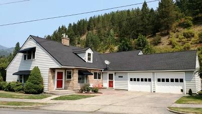 Shoshone County Single Family Home For Sale: 126 E Mullan Ave