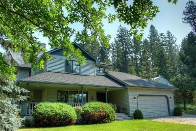 Coeur D'alene, Dalton Gardens Single Family Home For Sale: 14389 E Alder Creek Rd