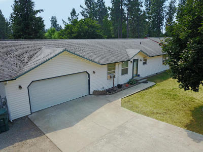 Rathdrum Single Family Home For Sale: 7450 W Division St