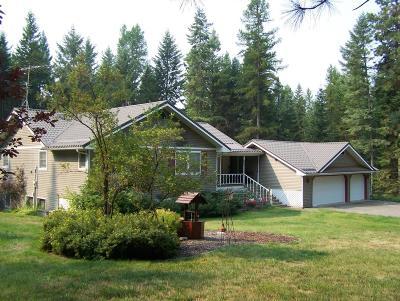 Hayden, Hayden Lake Single Family Home For Sale: 19964 N Rimrock Rd