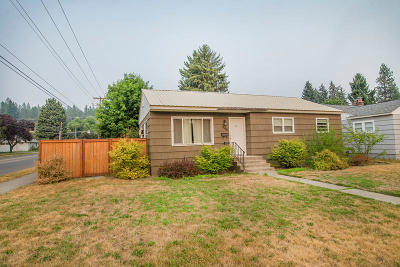Coeur D'alene Single Family Home For Sale: 1148 N 14th St