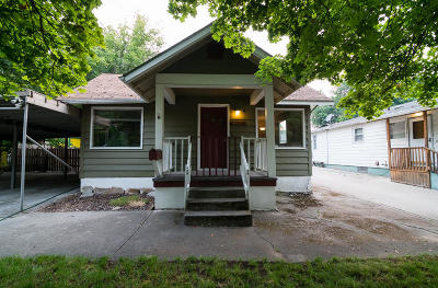 Coeur D'alene Single Family Home For Sale: 1113 N 11th St
