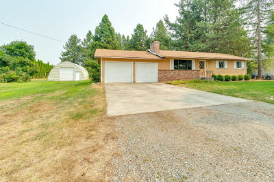 Hayden Single Family Home For Sale: 8966 N Reed Rd