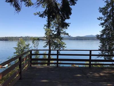 Hayden Single Family Home For Sale: 3406 E Hayden Lake Rd