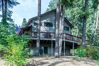 Rathdrum Single Family Home For Sale: 8891 W Twin Lakes Rd