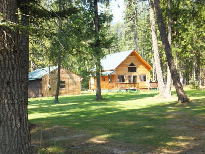 Bonners Ferry Single Family Home For Sale: 494 Timberlane Rd