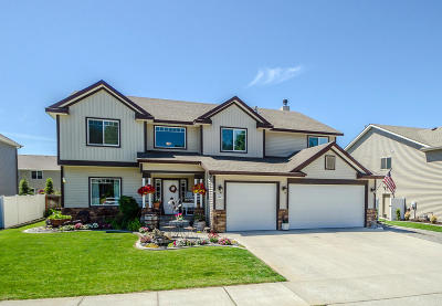 Hayden Single Family Home For Sale: 8447 Salmonberry