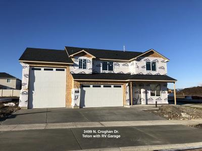 Post Falls Single Family Home For Sale: 3499 N Croghan Dr
