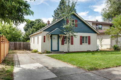 Coeur D'alene Single Family Home For Sale: 1613 N. 6th St