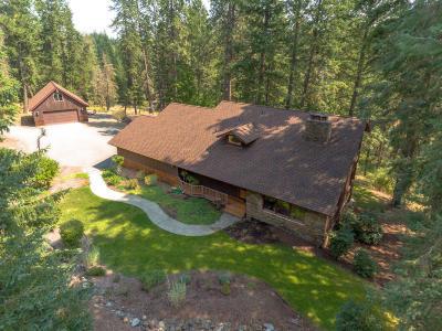 Hayden, Hayden Lake Single Family Home For Sale: 12561 N Sherwood Ct