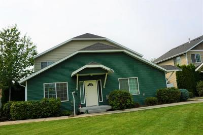 Hauser Lake, Post Falls Condo/Townhouse For Sale: 1069 N Forsythia Cir