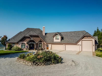 Hayden, Hayden Lake Single Family Home For Sale: 23452 N Derting Rd