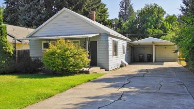 Coeur D'alene Single Family Home For Sale: 1414 N 6th St