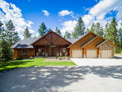 Post Falls Single Family Home For Sale: 11791 W Coyote Ln