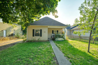 Coeur D'alene Single Family Home For Sale: 1716 N 7th St
