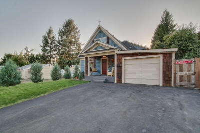 Coeur D'alene Single Family Home For Sale: 507 N 16th St