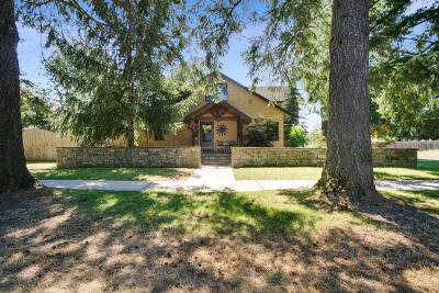Sandpoint Single Family Home For Sale: 1015 Oak