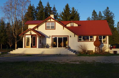 Sandpoint Single Family Home For Sale: 247 Grouse Creek Crk Ctf