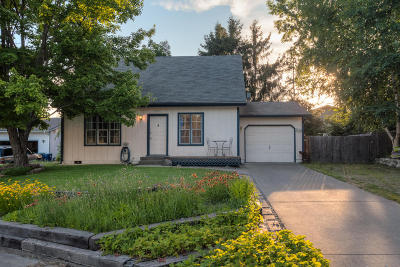 Coeur D'alene Single Family Home For Sale: 1021 E Woolsey Dr
