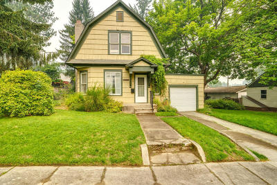 Coeur D'alene Single Family Home For Sale: 1011 E Coeur D Alene Ave