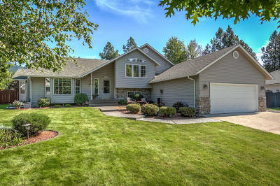 Coeur D'alene Single Family Home For Sale: 3708 N Bitteroot Dr