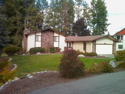 Coeur D'alene Single Family Home For Sale: 2213 E Lookout Dr