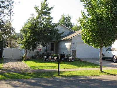 Post Falls Single Family Home For Sale: 5654 Steamboat Bnd