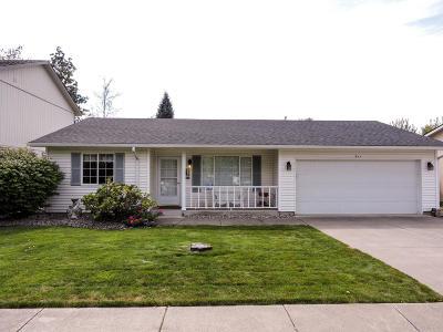 Hauser Lake, Post Falls Single Family Home For Sale: 911 E Glacier Peak Dr