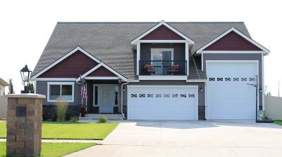 Rathdrum Single Family Home For Sale: 13978 N Pristine Cir